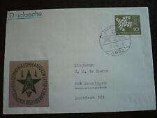 Postal History - Europa - Germany -Scott# 844 - 40th German Esperanto Congress