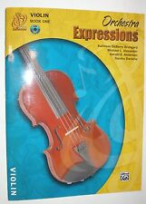 Alfred Publishing Co. 00EMCO1002CD Orchestra Expressions Violin Book 1