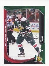2013-14 Halifax Mooseheads (QMJHL) Trey Lewis (Coventry Blaze)