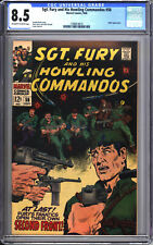 SGT. Fury and His Howling Commandos #58 CGC 8.5 VF+ Hitler appearance 1968