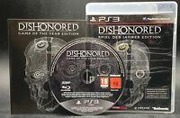 """PS 3 Playstation 3 Spiel """" DISHONORED Spiel des Jahres Edition """" KOMPLETT"""