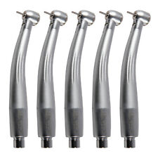 5pcs NSK Style Dental High Speed E-generator LED Turbine Handpiece Triple B/F