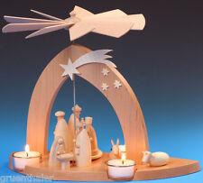 Pyramide Christi Geburt mit den 3 Weisen Erzgebirge Fa. Schalling Seiffen Neu