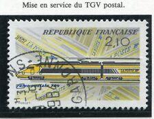 STAMP / TIMBRE FRANCE OBLITERE N° 2334 TGV POSTAL / Photo non contractuelle
