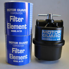 """MOTOR GUARD PLASMA AIR FILTER M-60 1/2""""NPT FOR MOST OF BRAND W/ 2 M-723 ELEMENTS"""