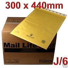 100 Mail Lite J/6 Padded Envelopes Bags JL6 FREE 24HR P