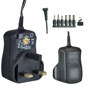 Eagle Multi-Voltage 600ma Regulated Switch Mode Power Supply UK Plug