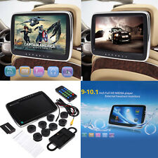 "UK 10"" HDMI Car DVD Player Digital LCD Screen Headrest Monitor TF MEDIA Player"