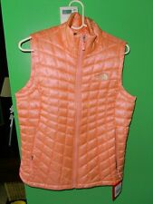 $149 The North Face Womens Thermoball Vest Ballet Pink Size Medium NWT NEW