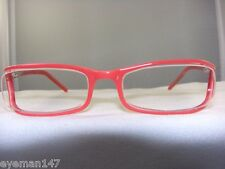 EYEWORKS SIDE RIMLESS FRAME IN PINK AND RED MODEL 8124