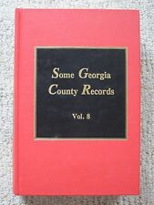 Some Georgia County Records Volume 8