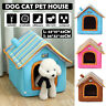 Pet Cat Dog House Kennel Puppy Cave Sleeping Bed Warm Nest Super Soft Mat Pad SM