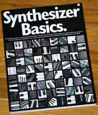1985 Analog Synthesizer Basics by Friedman Moog ARP 2600 Avatar Paia Korg Buchla