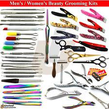 Professional Hairdressing Set Haircut Scissor Manicure Art Women Acrylic Clipper