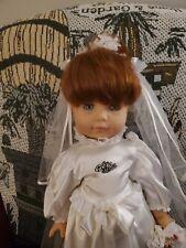 18 Inch Beautiful Gotz Bride Doll