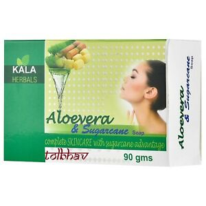 Aloevera And Sugarcane Beauty Soap Chemical Free 100% Herbal