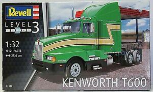 Revell 07446 plastic model kit KENWORTH T600 1:32 25.6cm New