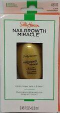Sally Hansen Nail Growth Miracle Growth Treatment 45103 Clear .45 Fl oz