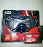 Black swim mask Star Wars  goggles official Disney Age 3+ One size fits all NEW