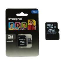 Scheda di memoria Micro SD 16 Gb classe 4 per HTC ONE M8