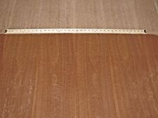"Sapele Pommele Figured wood veneer sheet 48"" x 112"" with wood backer ""Aa"" grade"