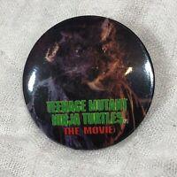 Teenage Mutant Ninja Turtles 1990 Movie Promo Pin Back Button Vintage