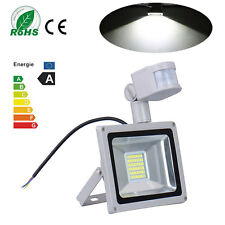 30W Cool White LED Flood Light + PIR Motion Sensor Outdoor security Lamp 220V