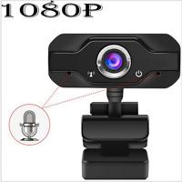 Autofocus 1080P HD Webcam USB Web Camera Microphone For PC Desktop Laptop Mic
