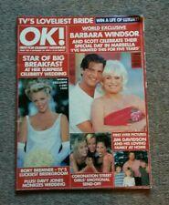 Hello Magazine Sept 1999 Level 42 Mark King Barbara Windsor