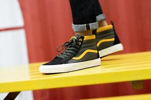 Vans SK8-Hi MTE Shoes Boots Men's Size 11 Grape Leaf Lemon Chrome