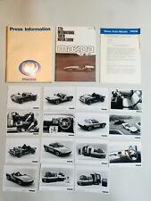 SUPER RARE!!! 1987 Mazda Factory Tokyo Motor Show MEDIA PRESS KIT PHOTOS MX4 MX5