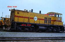 BC Hydro Railway Unit 151 New West. BC 1977 slide