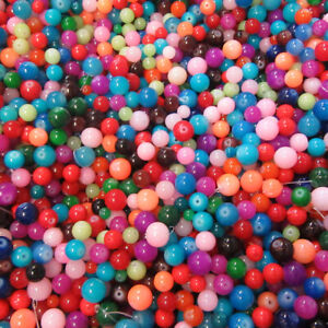 100g COLOURED GLASS BEADS  - CLEARANCE - MIXED BAG -BARGAIN BAG - JEWELLERY UK