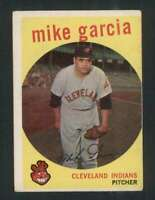 1959 Topps #516 Mike Garcia VGEX Indians 72547