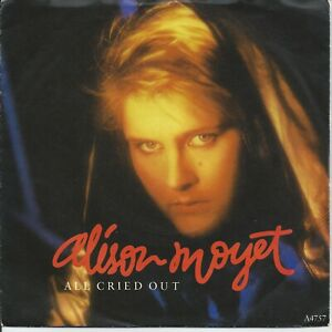 """Alison Moyet - All Cried Out 7"""" Vinyl Single 1984"""