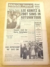 MELODY MAKER 1958 JULY 5 HARRY BELAFONTE LOUIS ARMSTRONG JAZZ BIG BAND SWING