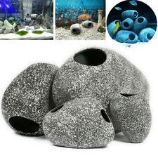 Fish Tank Stone Rock Cave Aquarium Shrimp Breeding Ornament Decorations