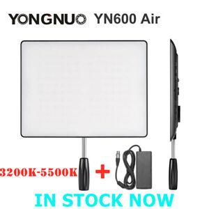 YONGNUO YN600 Air LED Video Light Bi-color 3200-5500K For Camera DSLR Studio DV