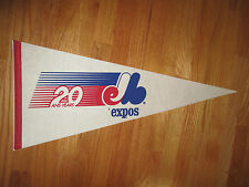 "1989 MONTREAL EXPOS 20th ANNIVERSARY 30"" Pennant"