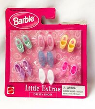 Barbie - Little Extras - Dressy Shoes - 7 pairs - Mattel 67036-86