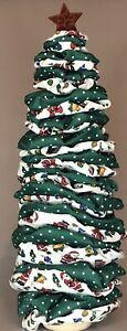 Hand Made Fabric Christmas Tree