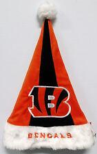 Cincinnati Bengals Hat Embroidered Christmas Holiday Santa Hat
