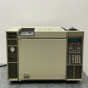 HP Agilent 5890A Gas Chromatograph w/ FID Detector & Purged Packed Inlet for GC