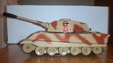 CORGI GERMAN KING TIGER TANK-Brown Camoflage, 1:60 Scale, Die-cast, Excellent