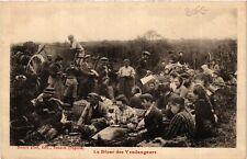 CPA  Le Diner des Vendangeurs  (586531)