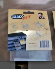 Raaco storage drawer dividers.