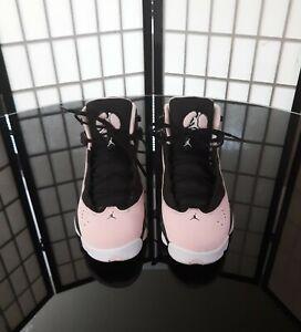 Air Jordan 6 Rings Black Pink Size 7Y
