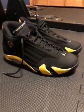Air Jordan Retro 14 'Thunder' Black and Yellow Size 10.5 Men's Shoes