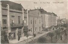 Ukraine, Poland, Stryj, Ul 3-go Maja, Street Scene, Old Postcard