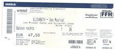 Elisabeth - Das Musical - Jahrhunderthalle Frankfurt - Ticket vom 01.12.2011
